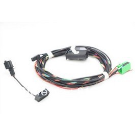 VW font b Bluetooth b font Wiring Harness For RNS510 TIGUAN GOLF MK6 Jetta MK5 font compare prices on passat bluetooth kit online shopping buy low Bluetooth Speaker Wiring Diagram at edmiracle.co