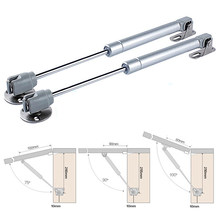 New Arrival Cabinet Door Lift Up Hydraulic Gas Spring Lid Flap Stay Hinge Strut Support(China)