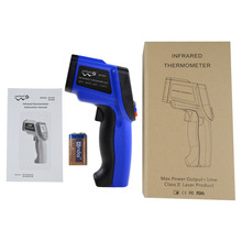 OUTAD Non-Contact IR Infrared Digital Laser Thermometer Auto Power Shut Off Data Hold -50~900 Degree Stock Offer