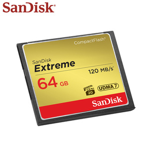 Image 3 - Thẻ Nhớ SanDisk 32GB 64GB 128GB CF Cực Cao Tốc Độ Thẻ Compact Flash UDMA 7 VPG 20 Full HD Video Cho Camera