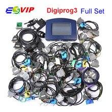 2018 New V4.94 Digiprog III Digiprog 3 Odometer Programmer Digiprog3 Mileage Adjust Tool Digi Pro 3 Full Set With All Cables