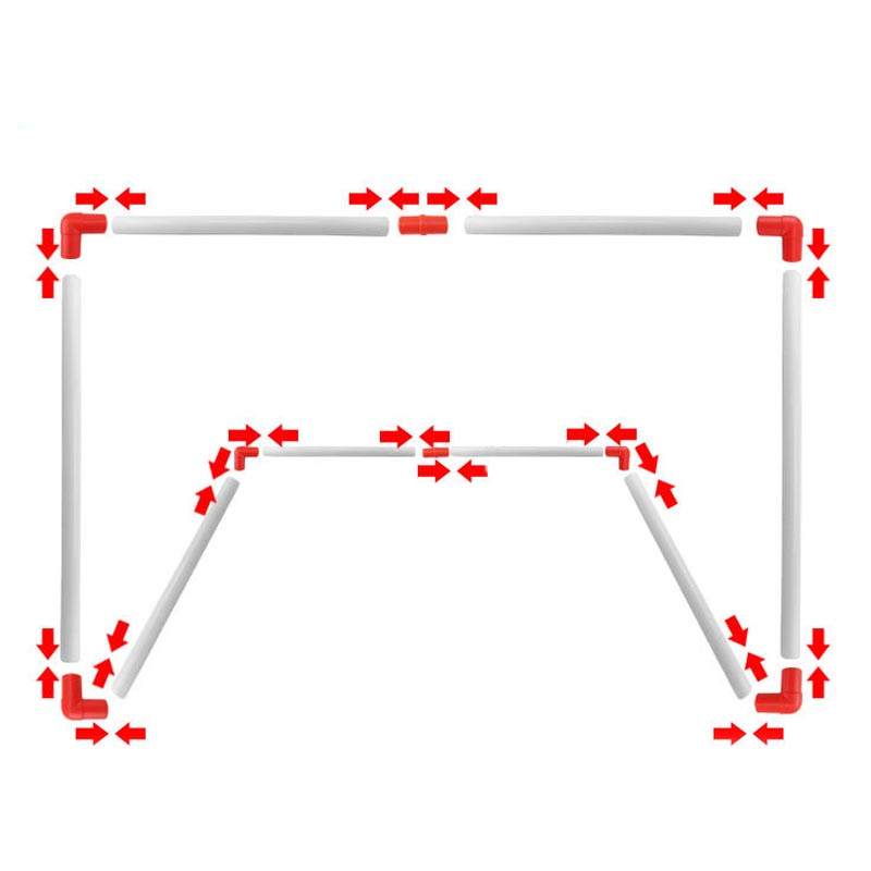 Outdoor Soccer Game Sport Toy Family Game Boy Children Plastic Football Goal Sets   BHD2