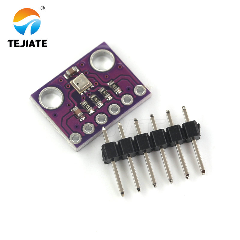 High Accuracy! 3In1 <font><b>BME280</b></font> I2C <font><b>SPI</b></font> 1.8-5V Digital Sensor Temperature Humidity Barometric Pressure Sensor Module GY-<font><b>BME280</b></font>-3.3 image