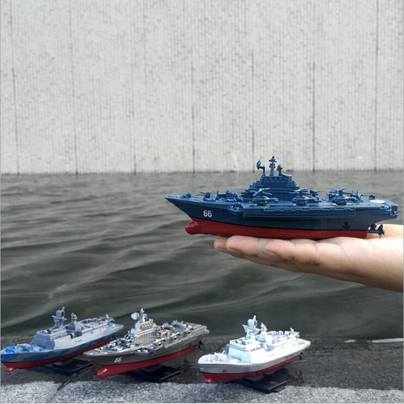 RC Boot Fernbedienung Wasserdichte Wiederaufladbare Mini Schnellboot Elektrische Sport RC Boot Kinder Wasser Spielzeug