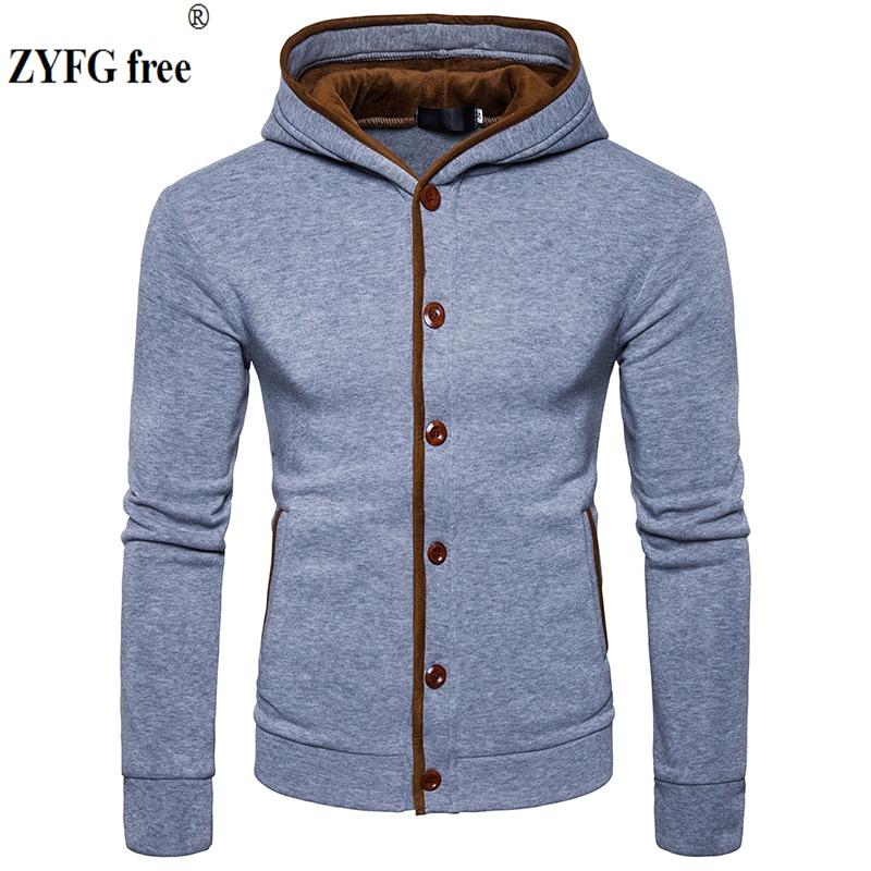 Mens hooded Hoodie casual autumn winter fashion slim velvet surround design sweatshirt Tops patchwork Hoodies EU/US size S-XXL