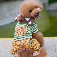Kleine Honden Kostuum Kleding Voor Little Honden Overalls Hond Kat Puppy Winter Warme Kleding Trui Kostuum Jasje Apparel