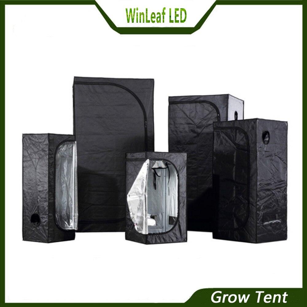 Grandir tente pour la culture hydroponique intérieure à effet de serre d'éclairage des plantes Tentes 80/100/120/150/240/300 tente de plus en plus