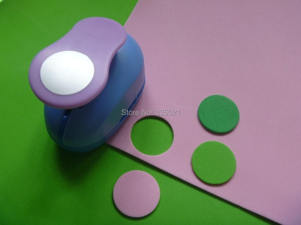 Free shipping 1(2.5cm)Circle EVA Foam Paper Cutter Craft Punch Scrapbooking Machine Handmade punches hole puncher