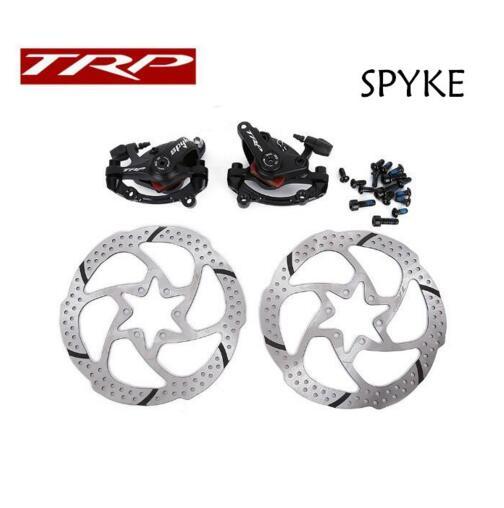 Здесь можно купить  TRP SPYKE mtb Mountain bike bicycle mechanical disc brake Dual Side Actuation with 6 bolt centerline rotor  Спорт и развлечения