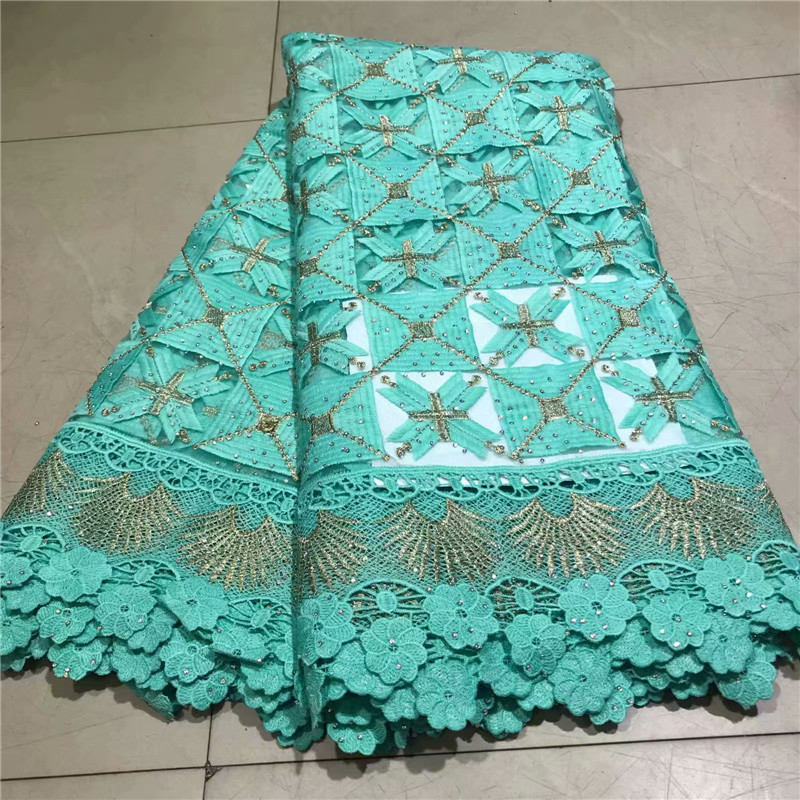 French Cord Lace Fabric 2019 Latest African Lace Fabric With Embroidery Mesh Tulle Lace Fabric High quality Nigerian Lace-in Lace from Home & Garden    2