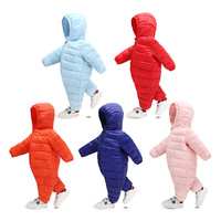 boy and girl autumn winter warm Baby Climb Clothes Children Baby playsuit Clothes Down Cotton Thickening Walking romper