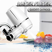 Bath Kitchen Faucets Tap Water Filter Household Water Purifier Washable Ceramic Percolator Mini Water Filter Replacement Filter