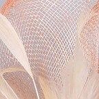 Элегантные шляпки из соломки синамей с вуалеткой хорошее Свадебные шляпы высокого качества Клубная кепка очень хорошее шляп шапки SYF16 - Цвет: champagne