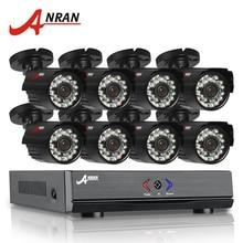 ANRAN 8CH Security Camera System AHD 1080N HDMI DVR 720P 1800TVL IR Outdoor Camera Home Video Surveillance Kits Email Alert