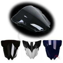 Motorcycle Windshield Windscreen Dual Bubble For YAMAHA YZF R6 2008-2016 09 10 11 12 13