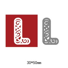 Large Big Alphabet Letters Metal Cutting Dies Stencils for DIY Scrapbooking Embossing photo album paper cards 2018 New
