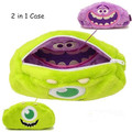 Mike and Art Figure - Monster Inc University Pencil-bag box 2 in 1!