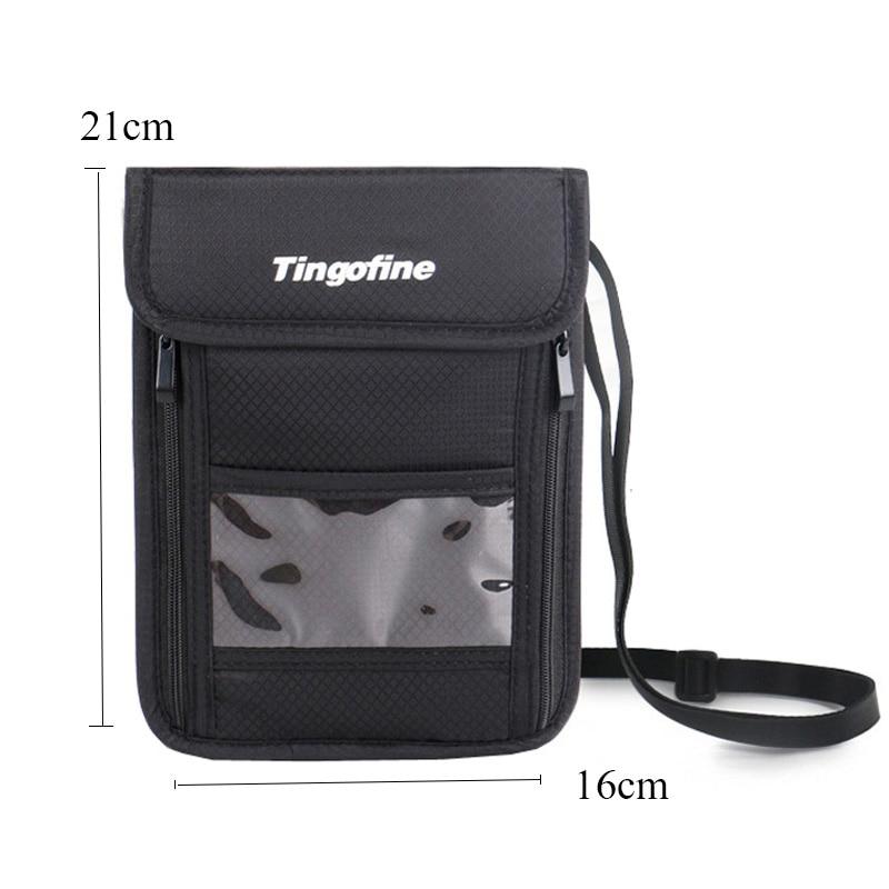 QEHIIE Fashion Travel Passportar Multifunktionella stöldskyddslåda - Plånböcker - Foto 2