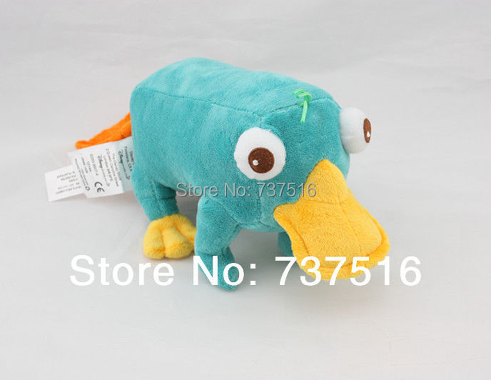 Stuffed Animals & Plush Phineas & Ferb Perry The Platypus Stuffed Plush 11 Doll Toy new trollope anthony phineas finn