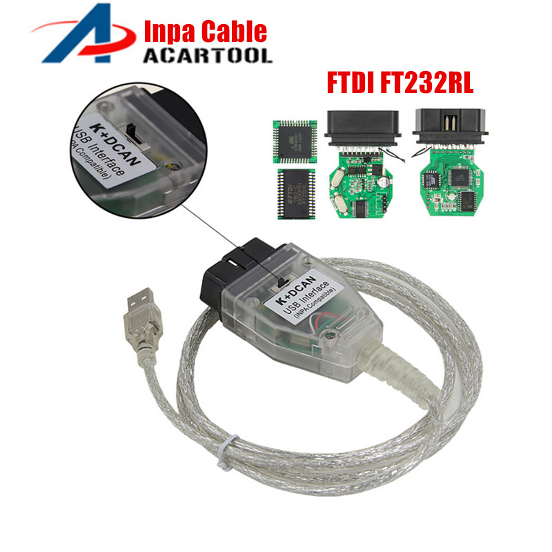 Switch CAN Usb-Interface-Cable INPA Ft232rl-Chip Bmw K New for  title=
