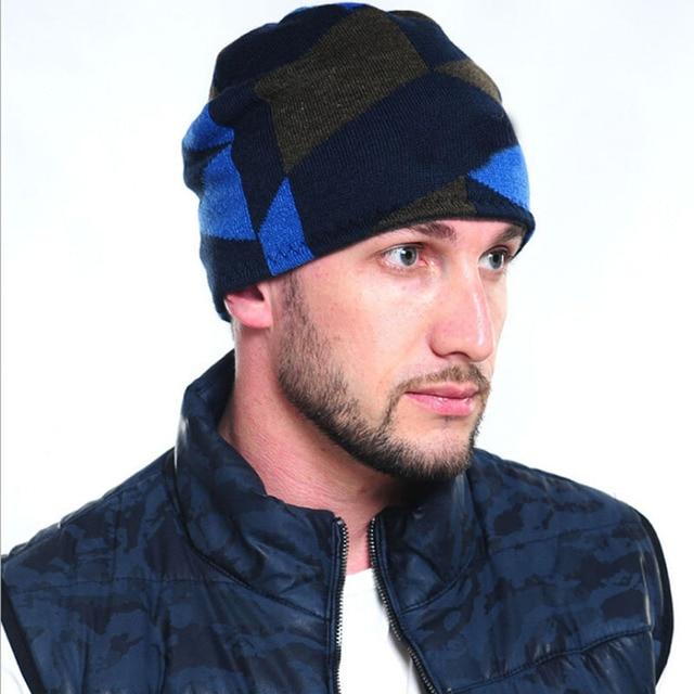 2016 Brand Beanies Knit Fleece Men's Winter Hats Skullies Bonnet Winter Hats For Men Women Beanie Warm Baggy  Knitted Hats