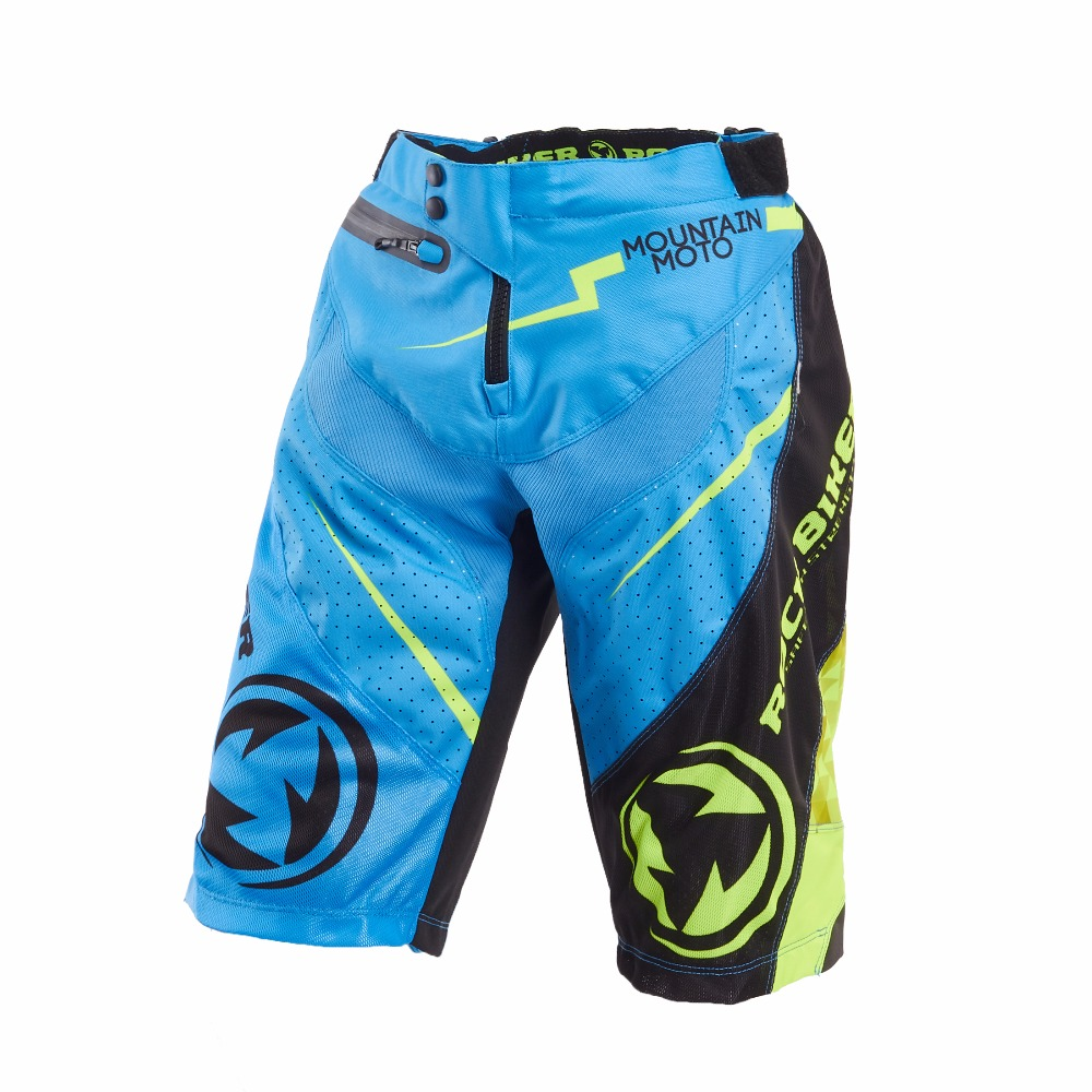 ROCK BIKER New Style Motocross Pants Motorcycle Shorts Bicycle downhill Motocrros Pantalones Downhill Assc Fox mtb Shorts