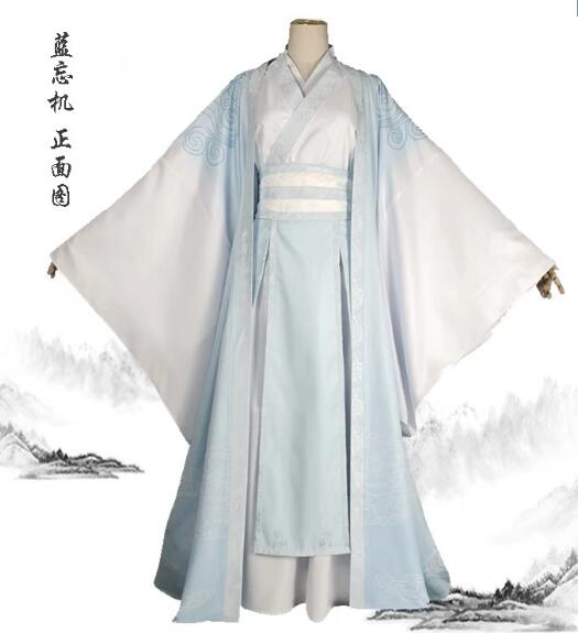 Modao Zushi Grandmaster of Demonic Cultivation Jiang Yanli Cosplay Women Costume