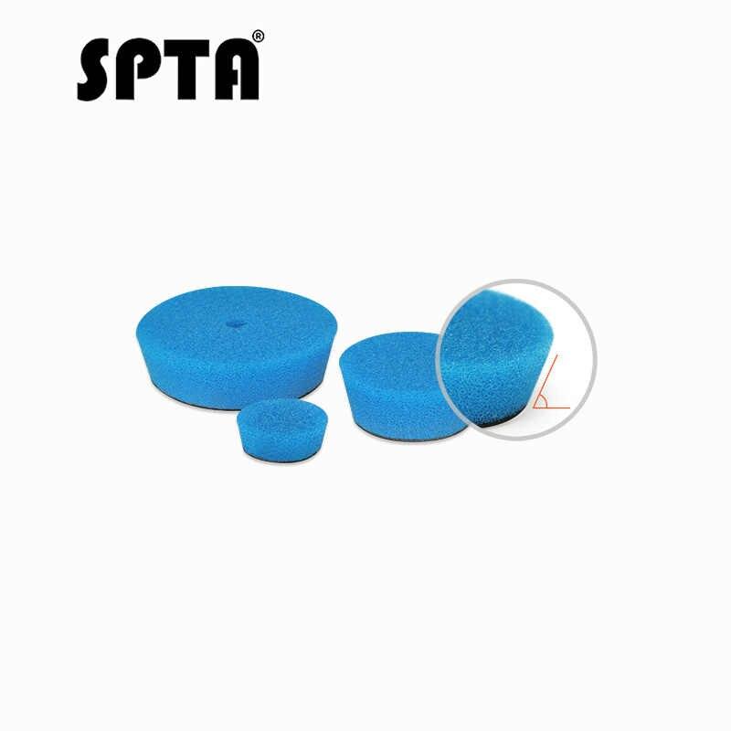 "SPTA 32pcs 1 ""/2""/3 ""(30mm/50mm/80mm) T-צורת רכב פירוט ליטוש רפידות & מרוט רפידות לרכב לטש חשמלי מקדחה לטש"