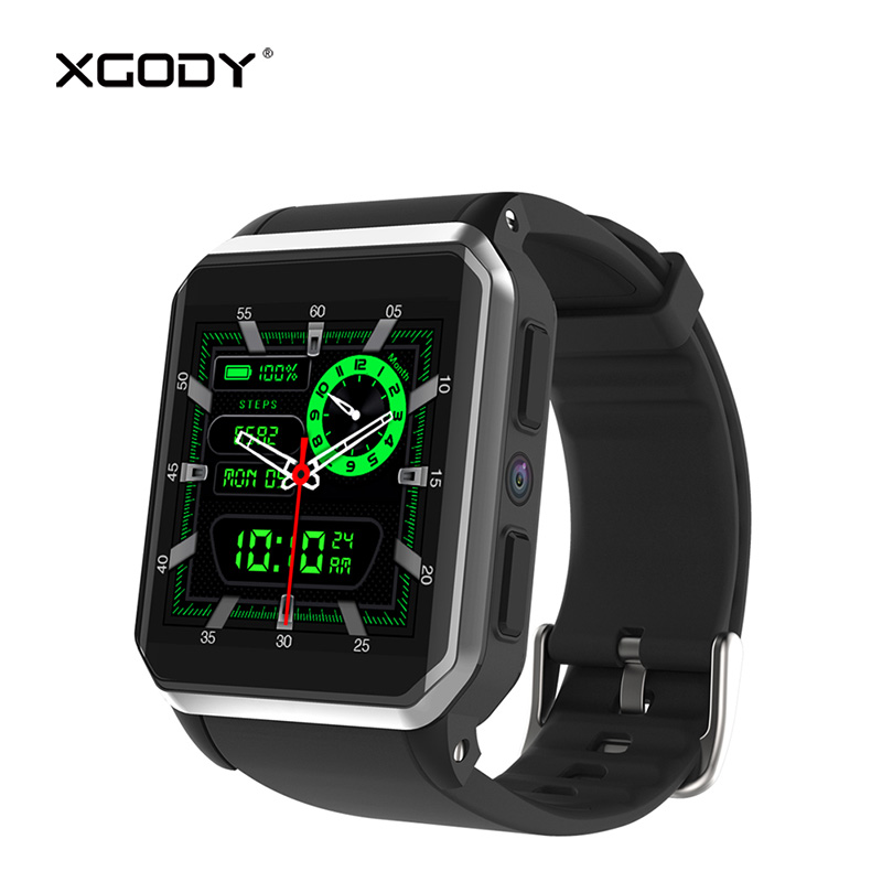 XGODY KW06 GPS Tracker Smart Watch with Sim Card 3G Phone Call WiFi Pedometer Heart Rate Monitor Smartwatch Android 5.1 Reloj BT dm98 gps 3g smart watch android with sim card pedometer sports tracker smartwatch phone 900mah wifi bt4 0 wristwatch men rsmtte