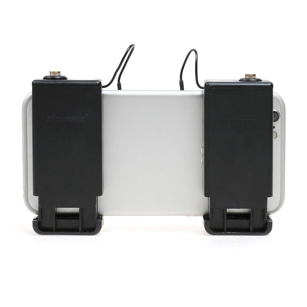 1 pair Mobile Gioco Fuoco Pulsante Joystick Obiettivo Chiave Smart phone Mobile Gaming Controller Trigger L1R1 Sparatutto PUBG Regole del sopravvivenza
