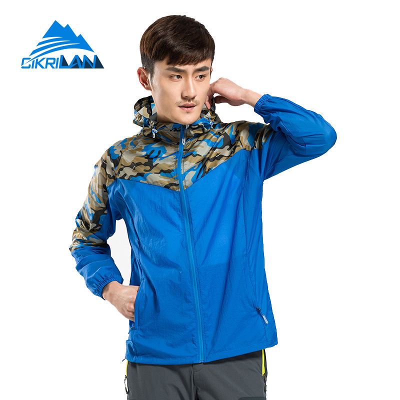 ФОТО 3 colors Summer Anti-UV Lightweight Sun Protection Coat Ultra-thin Casacos Quick Dry Chaqueta Hombre Camouflage Skin Jacket