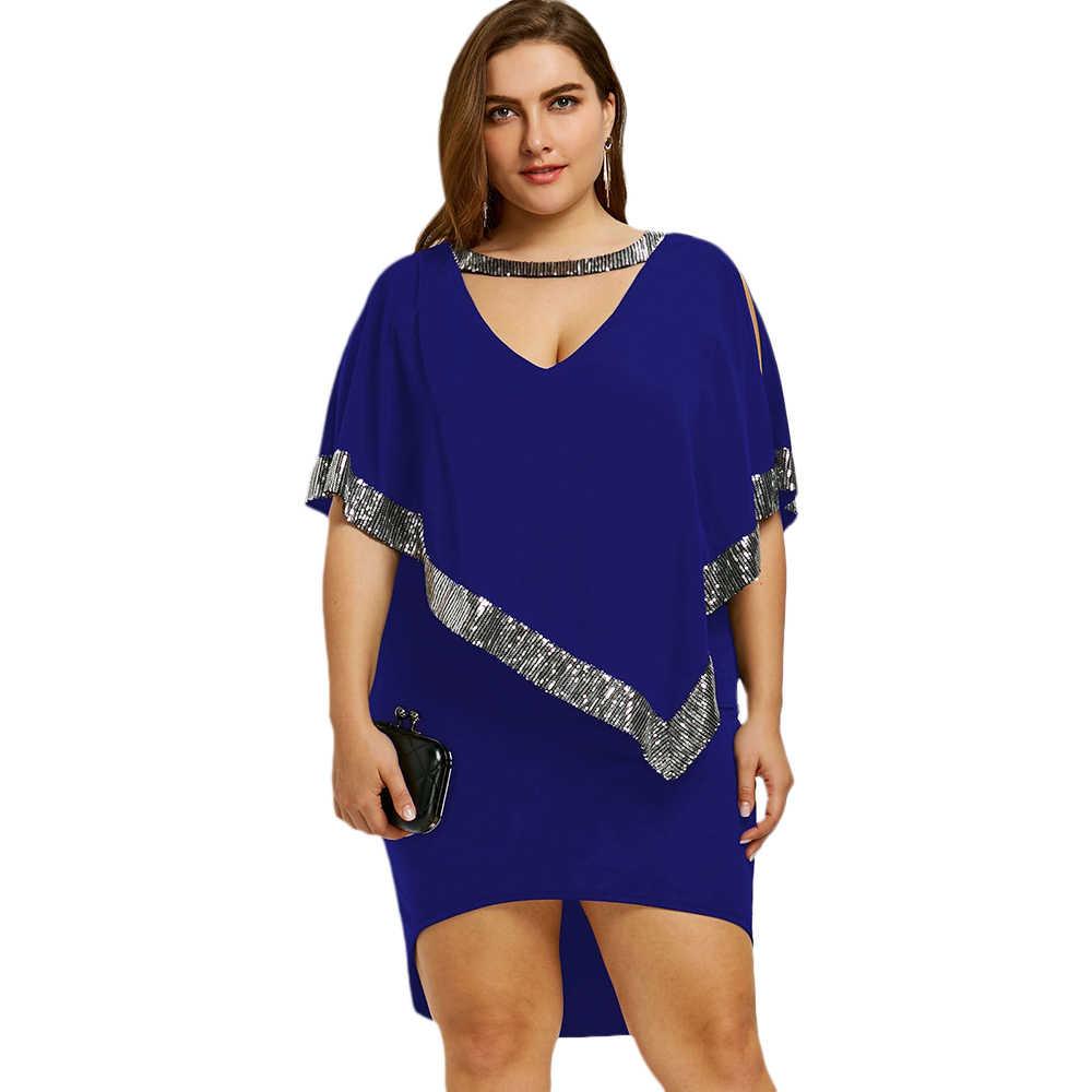 2e06a9a30402 Sequin Party Dresses Plus Size