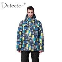 Detector 2016 Men S Ski Jacket Winter Outdoor Ski Suit Waterproof Windproof Breathable Ski Jacket Men