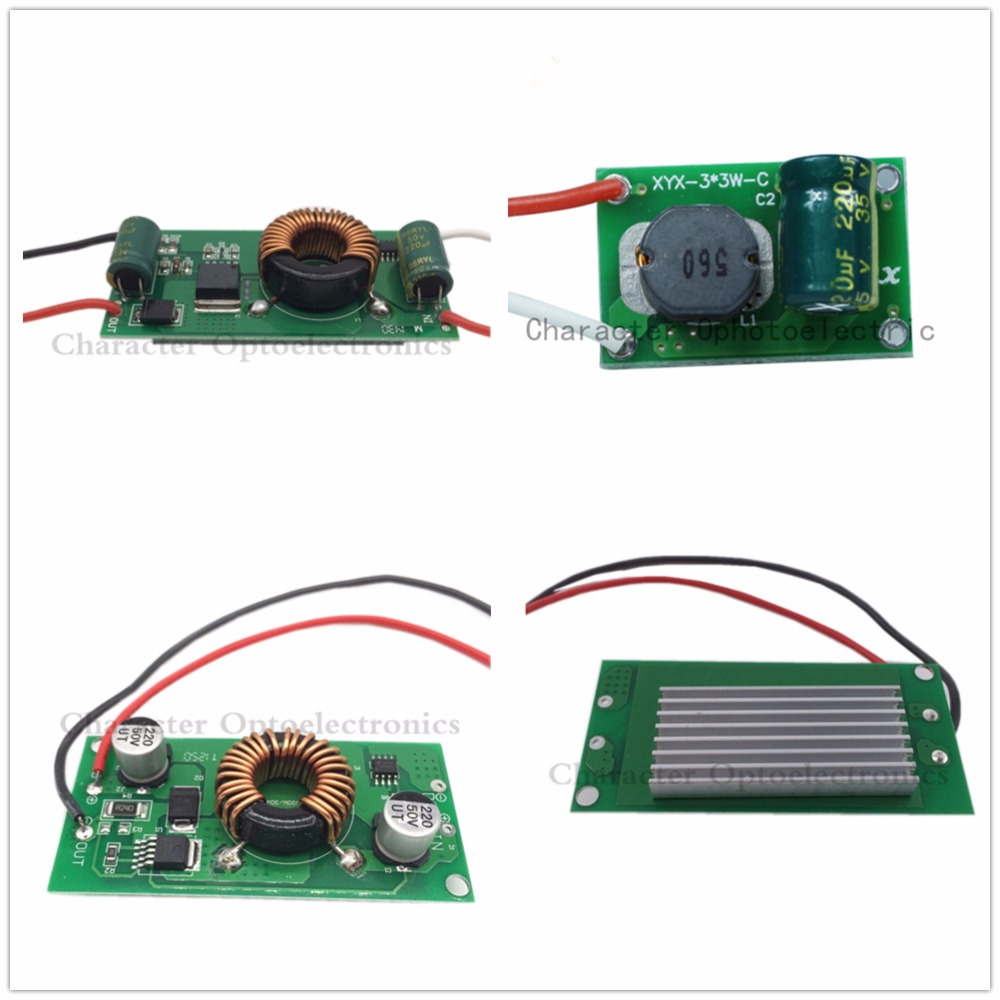 10PCS DC12V 24V 10w 20w 30w 50w Constant Current LED Driver for high power driver