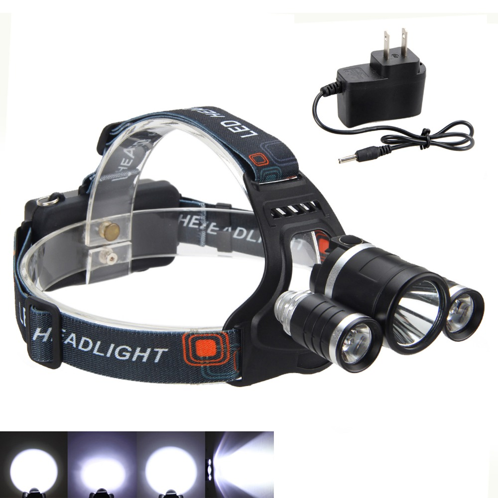 Camping Hunting New 5000 Lm 3x XM-L T6+ 2xR5 LED Lanterns for Outdoor Activities Lights