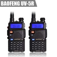 2set Baofeng UV-5R CB radio VOX Walkie Talkie pair Two Way radio communicator for Baofeng Police Equipment radio uhf vhf