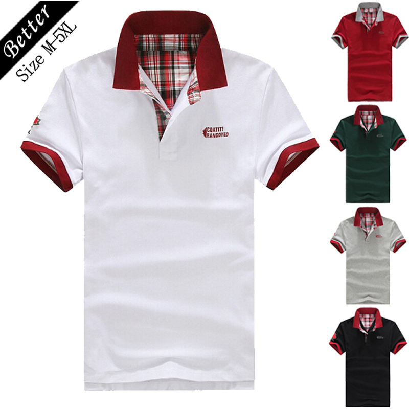 2017 camisa polo homme summer fashion men famous brand for Polo brand polo shirts