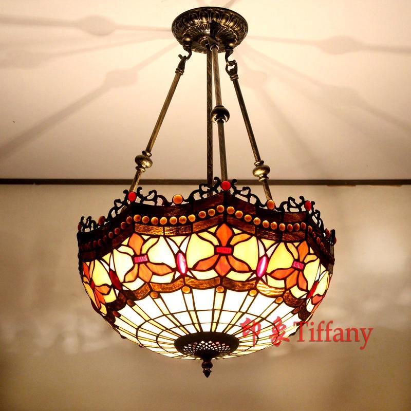 Tiffany European Style Retro Living Room Bedroom Dining Balcony Corridor Art Decorative