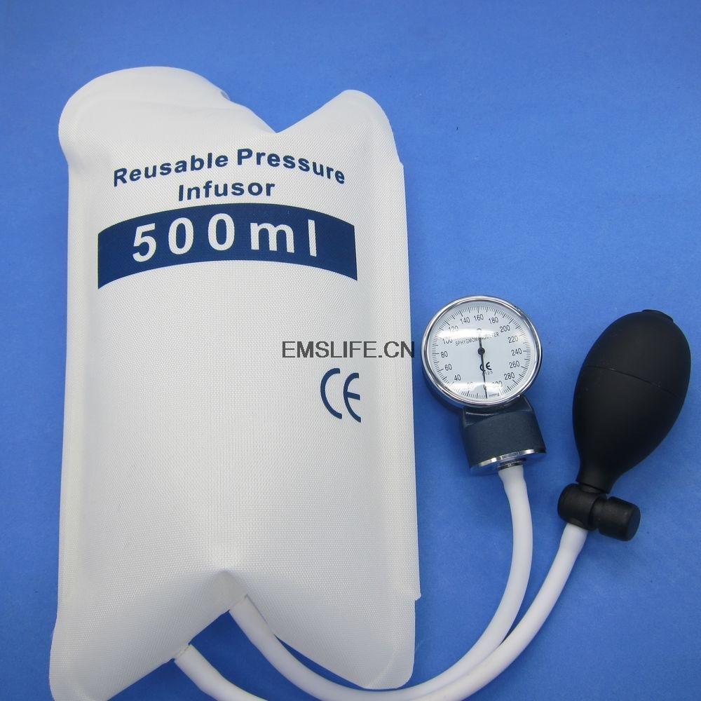 Medische druk Infuuszak 500ml met manometer en - Huidverzorgingstools