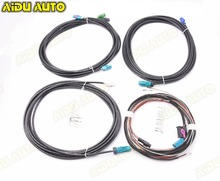 AIDUAUTO USE FOR  VW Skoda Seat Original TIGUAN PASSAT B8 360 Environment Rear Viewer Camera Harness cable wire