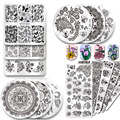 Pandox New Stamping Template Nail Art Stamp Stamping Plate Polish Design Print Manicure Nail Template Christmas Gift