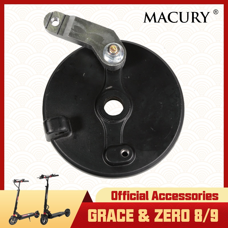 Rear Drum Brake For Grace & Zero 8 9 T8 T9 Electric Scooter For 8 Inch 8.5 Inch 9 Inch Wheel Original Spare Parts