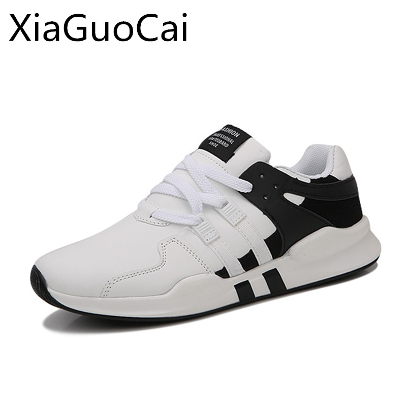 White High Quality Men Casual Shoes Mixed Colors New Style Male Sneakers Spring and Autumn Student Flat Casual Shoes Lu2 35 new 2017 men s genuine leather casual shoes korean fashion style breathable male shoes men spring autumn slip on low top loafers