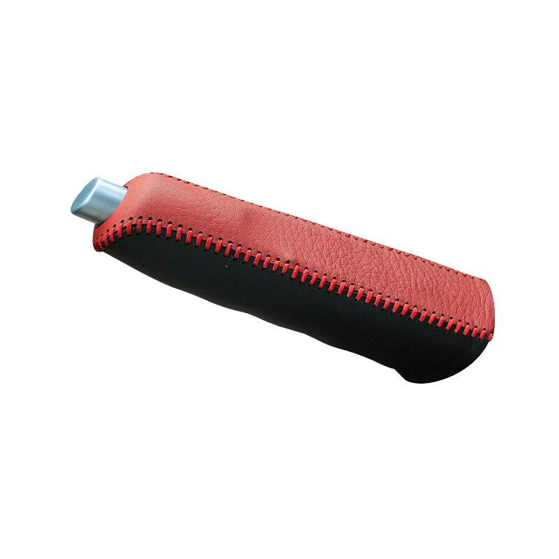 Пояса из натуральной кожи Рукоятки ручного тормоза для автомобиля для Ford Fiesta Ecosport натуральный кожаный чехол на ручной тормоз автомобильные... ...