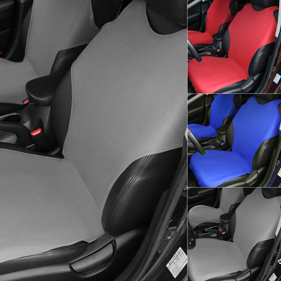 Auto Bekleding Universele Vest Voorste Auto Stoelhoezen Interieur Accessoires Airbag Compatibel Seat Cover Protector Pu Leer Nieuwe Ziekten Voorkomen En Genezen