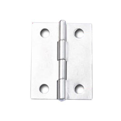 2x Stainless Steel Rotatable Folding Door Butt Hinges 38*30mm Silver