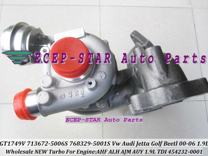 GT1749V 713672-5006S 768329-5001S 454232-0001 713672 713672-5005S 768329 Turbo For AUDI  ...