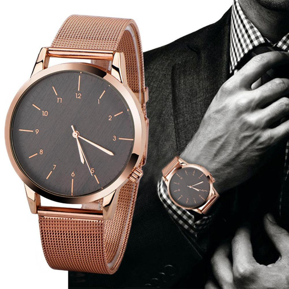 833ef2e519f Relógios de Quartzo ultra slim top atmosférica alloy Profundidade de  Resistência a Água   Não à
