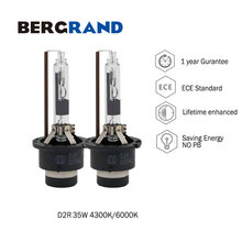 2PCS 35W Xenon Bulb D2R HID Lamp Quartz Glass UV Free 4300K 6000K Replacement Original car headlight bulb 3200-3600LM Emark