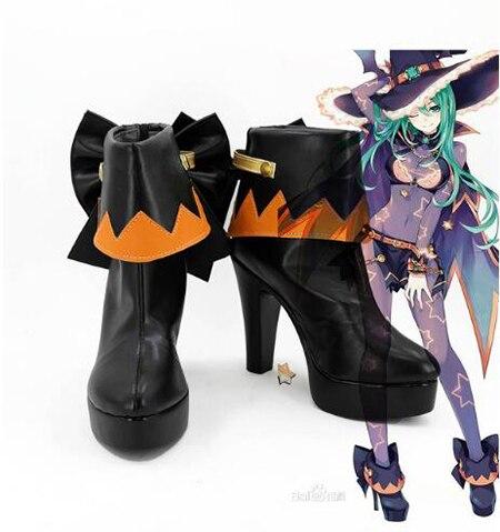 Дата живой нацуми ботинки для костюмированной вечеринки обувь на Хэллоуин вечерние Косплэй шоу сапоги индивидуальный заказ для взрослых ж...